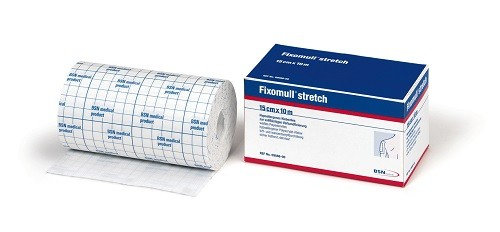 Fixomull stretch, 10mx10cm, 1 Stck., PZN 04539523