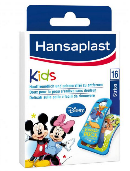 Hansaplast Junior Strips Mickey & Friends, 16 Stck., PZN 03438725