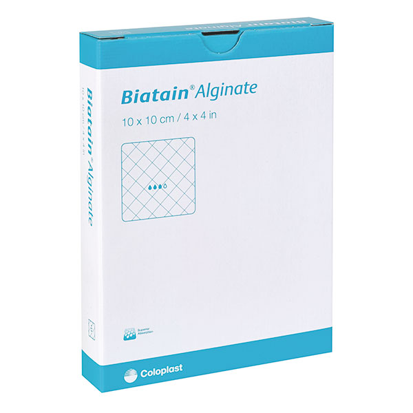 Biatain Alginate 10x10cm, steril, 10 Stck., PZN 01406394