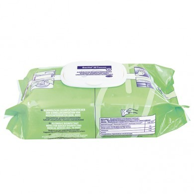 Bacillol 30 Tissues Flow Pack, 80 Tücher