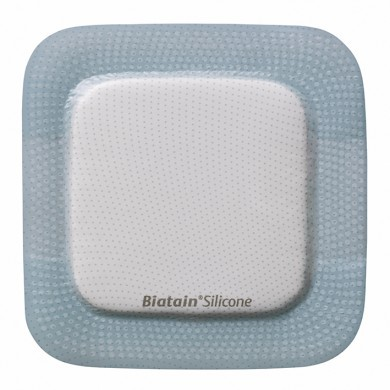 Biatain Silicone Schaumverband Multishape, 14x19,5cm, steril, 5 Stck., PZN 11486075